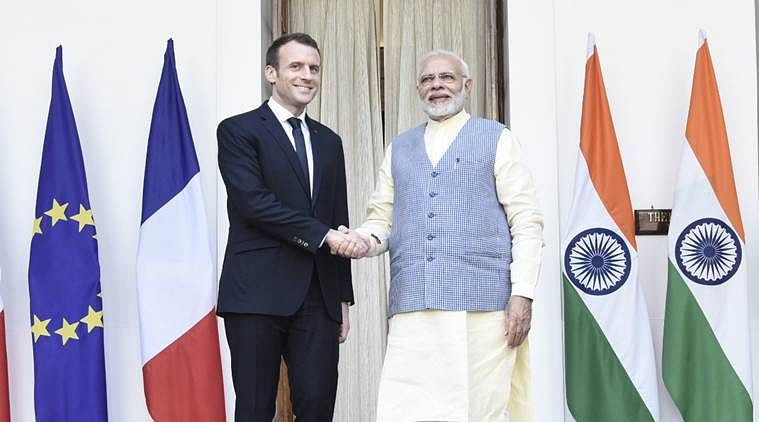 India, France sign Ocean strategy  pact