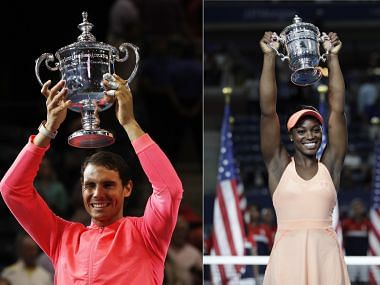 Rafael Nadal and Sloane Stephens are US Open Champs