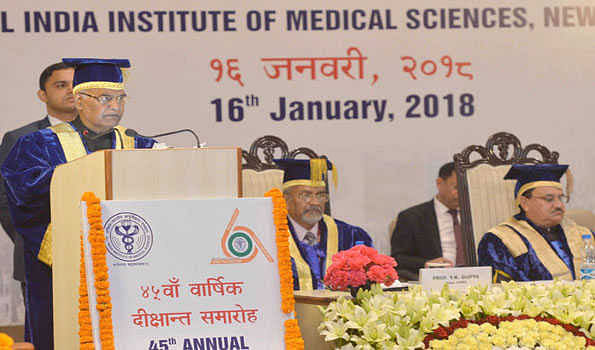 Need a new system to increase doctors' availability: Prez