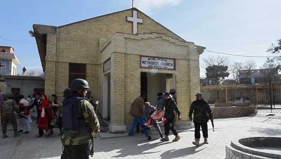 Attack on Methodist church in Pakistan