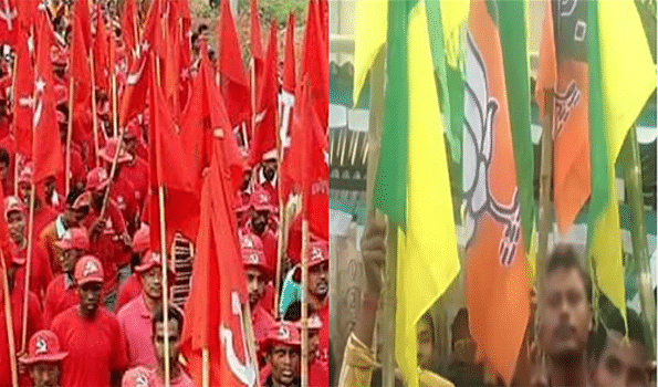 Saffron challenge seeking inroads into Red Fortress along Bangla border