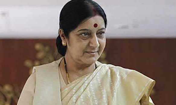 Sushma blasts Pak Minister Qureshi on 'googly' remarks on Kartarpur
