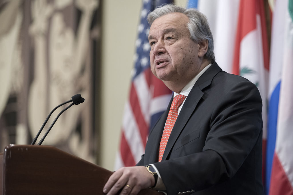 UN will 'not tolerate' sexual harassment: Guterres