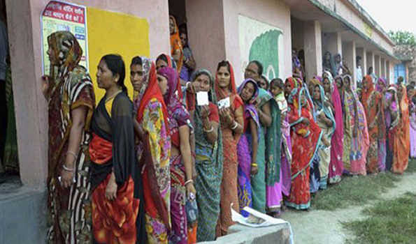 55.77 percent polling in Bihar by-elections