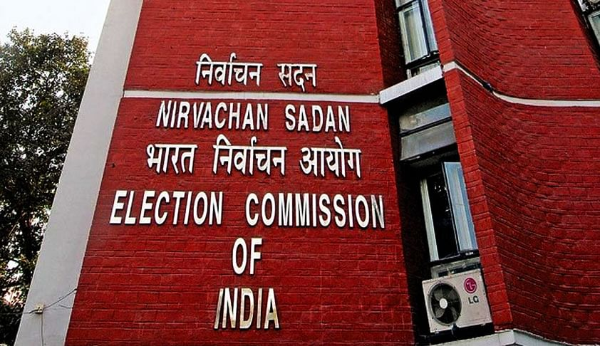 Bar charge-sheeted politicians from elections: EC
