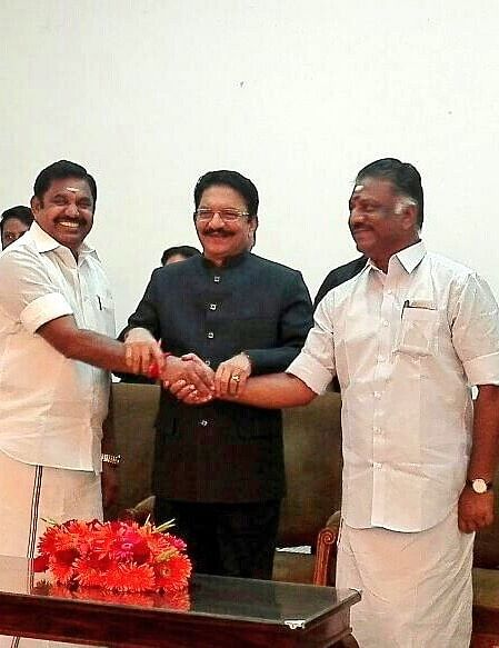 AIADMK merges: OPS Dy CM and Finance Minister