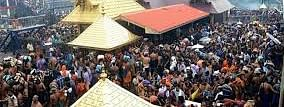 Sabarimala protests shift to Nilackal,  protesters to stop women; Police on high alert