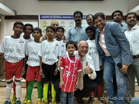 Students from BMC schools to get football training in Germany