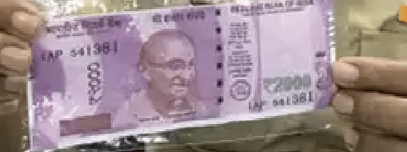 Delhi police caught two with fake currency