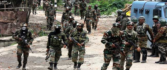 SFs launch CASO in Shopian after militants attack patrol party