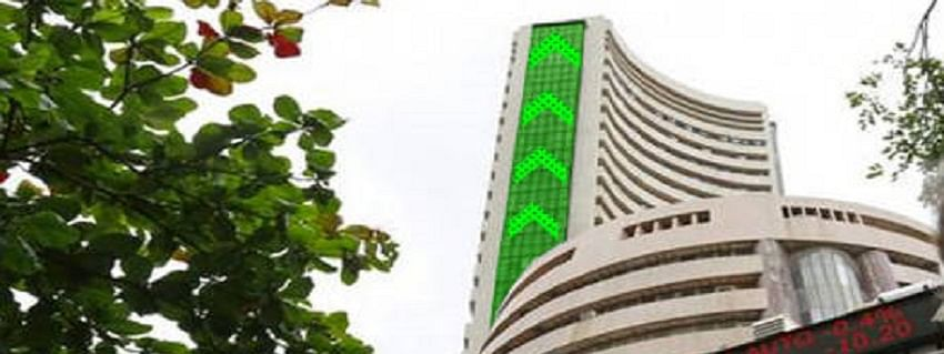 Sensex recovers by 277.01 pts