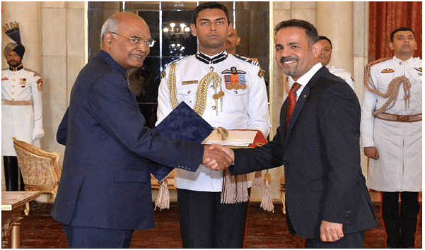 Envoys of 4 nations present credentials to President