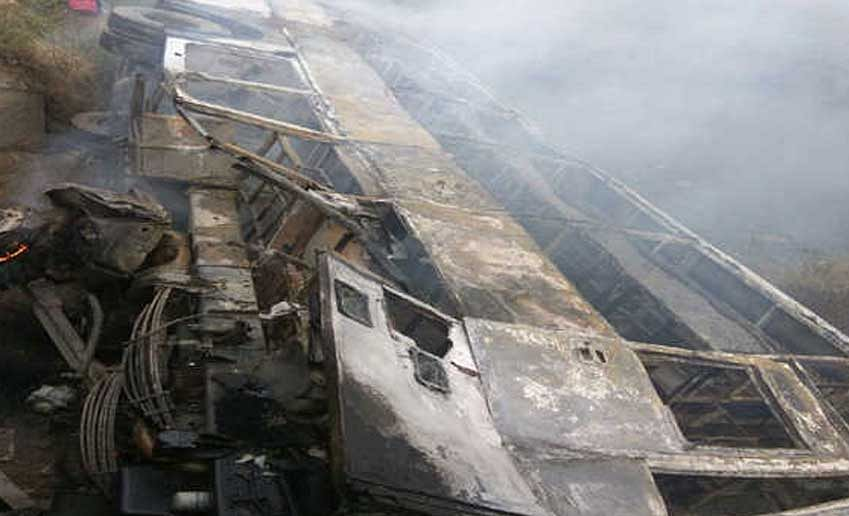 More than 12 feared killed, scores injured in fire mishap