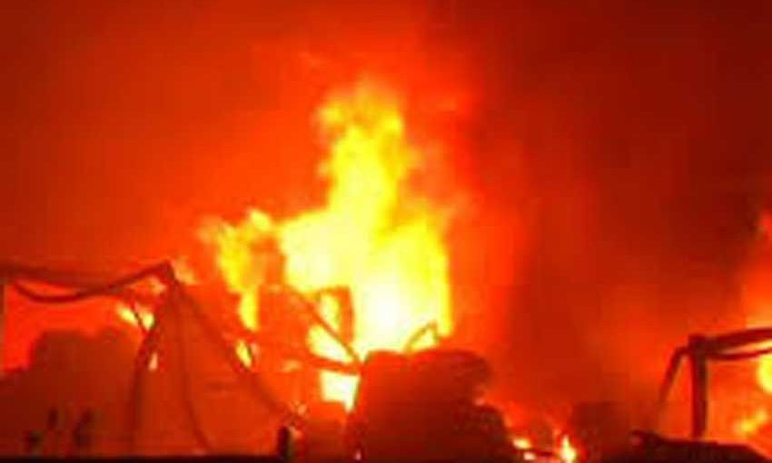 Fire breaks out inside state fire services headquarters in Ranchi