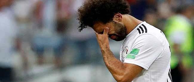 Salah's goal ends in futile as Egypt loses to Saudi
