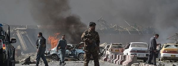 35 Islamic State insurgents and 16 Taliban men were killed in Afghanistan