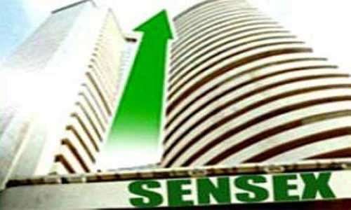 Sensex opens higher by 59 pts