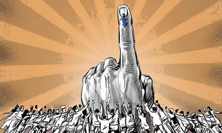 64.15% turnout in the seventh phase of Lok Sabha polling