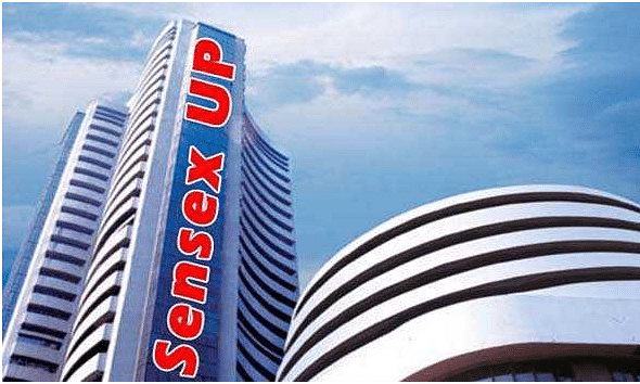 Sensex rises by 200 points
