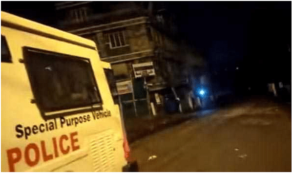 Night curfew imposed in Shillong as violence continues