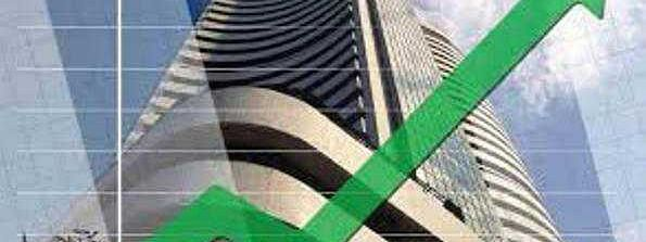 Sensex up by 123.25 pts