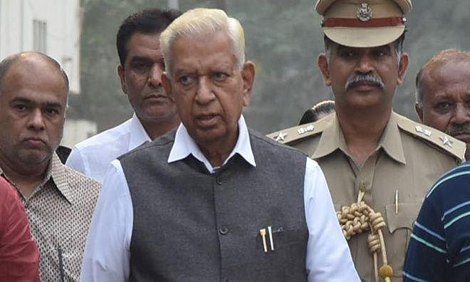 All eyes are on the Governor Vajubhai Vala's next move