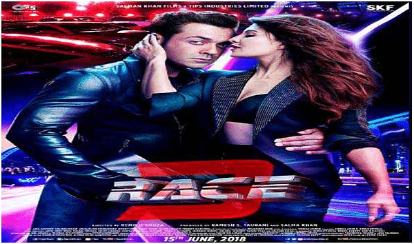 Salman Khan reveals twist in 'Race 3' with Jacqueline, Bobby poster