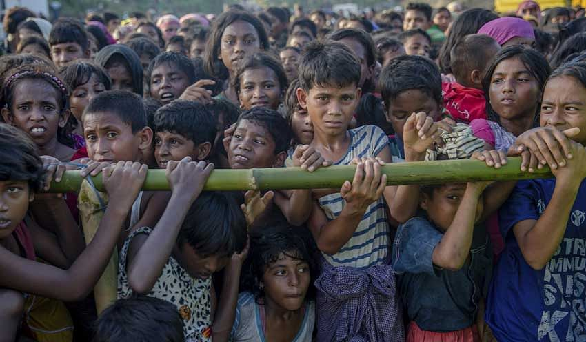 One million Rohingya refugees being vaccinated against cholera