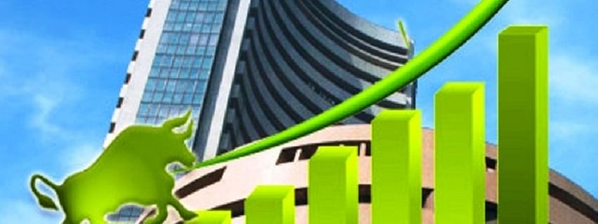 Sensex up by 94.09 pts