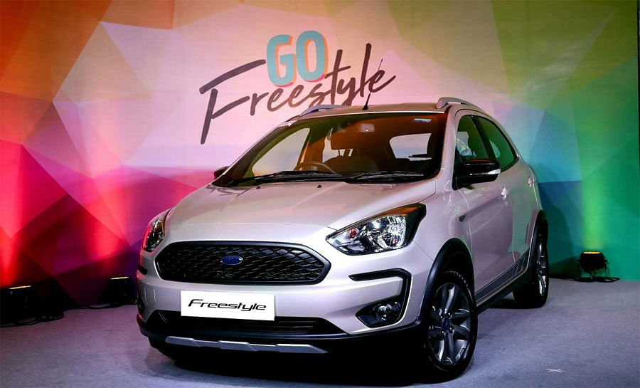 Ford unveils CUV 'Freestyle' at Rs 5.09 lakh