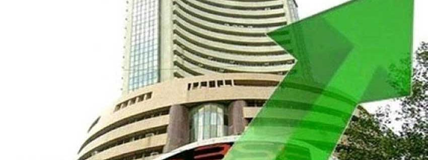Sensex up by 297.21 points
