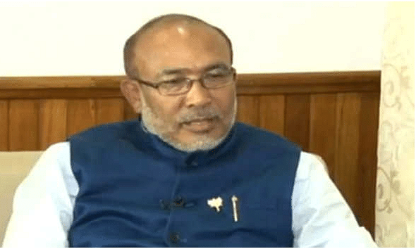 Manipur CM launches home delivery service of essential commodities