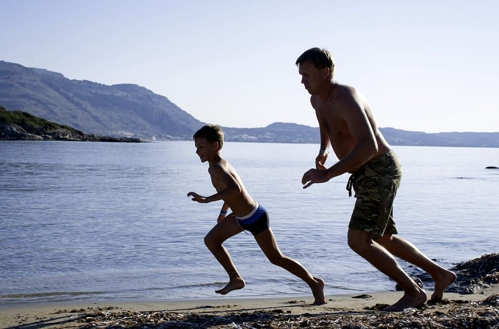 Kids' muscles more powerful than athletes