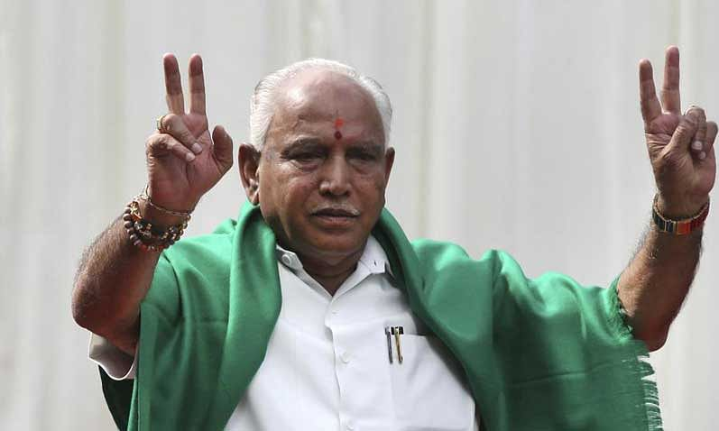 Yeddyurappa to meet Governor at 10AM