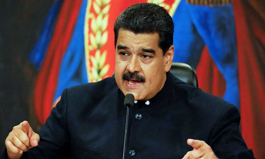Will not leave Presidential post: Maduro