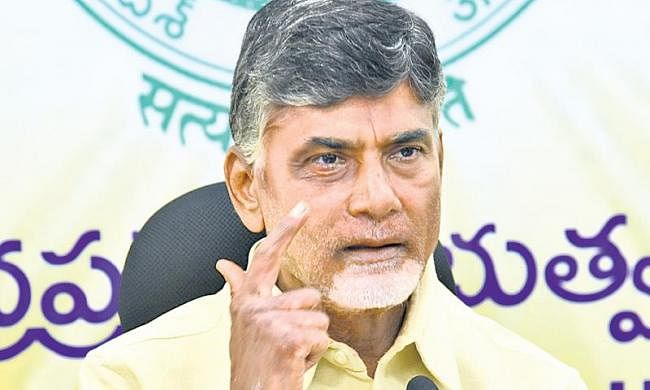 Jagan admitted the involvement in 31 cases: Naidu
