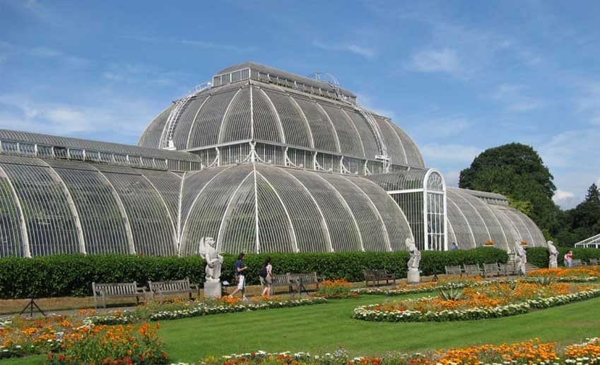 Britain's Kew Gardens reopens vast glasshouse after extensive works