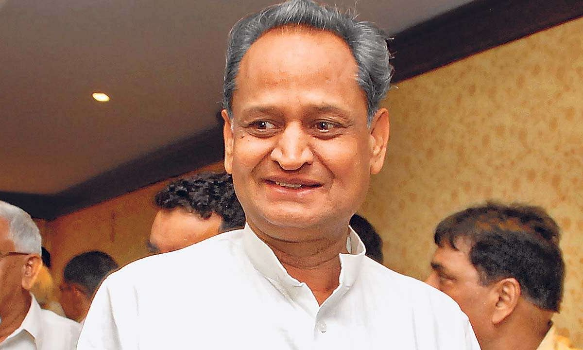 Gehlot Cabinet to be expanded in Rajasthan on Monday