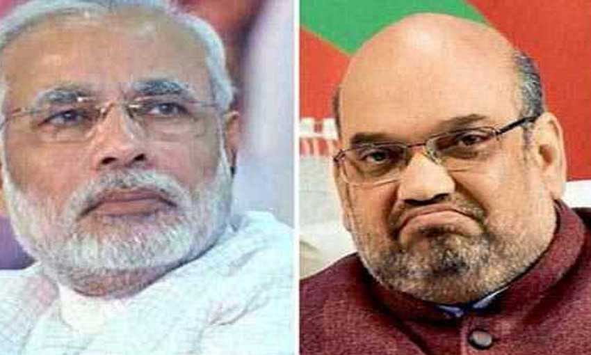 Modi leads with 41,000 votes; Amit Shah's lead is 1.25 lakh