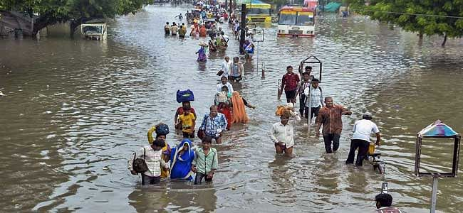 Normal life affected in UP due to rains; 45 deaths so far