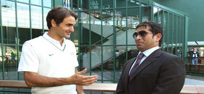 Federer's chat with Sachin on Twitter is running hot!