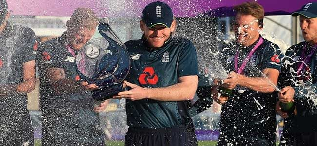 England beat India by eight wickets to clinch the series 2-1