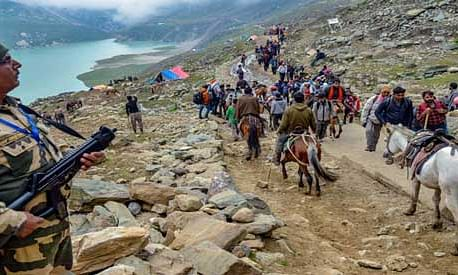 Fresh batches leave base camps for Amarnath