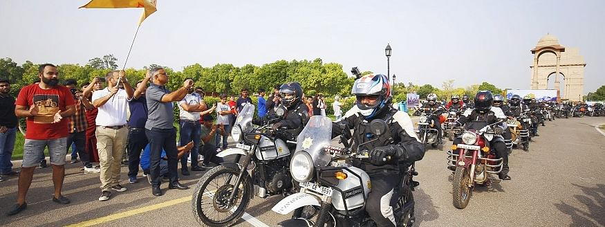 Royal Enfield flags off 15th edition of Himalayan Odyssey
