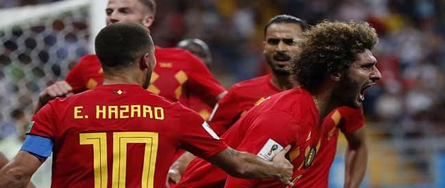 Belgium fight back from two down to beat Japan 3-2 in added time