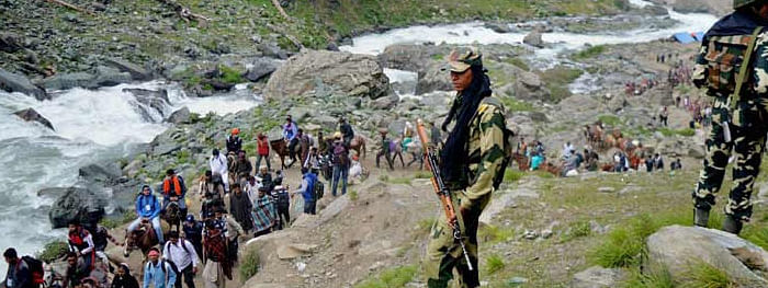 No batch of pilgrims leaves from Jammu for Amarnath