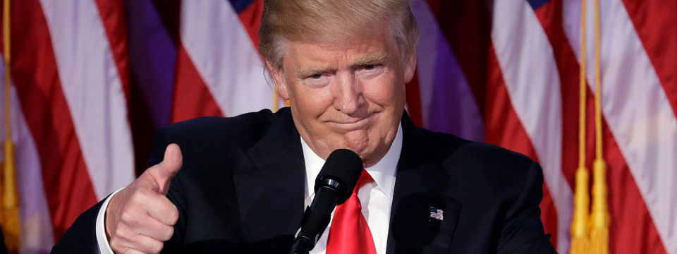 US President Trump says intends to run for president in 2020