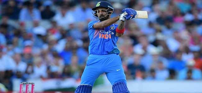 Twenty20: India beat England by 8 wickets; lead 1-0