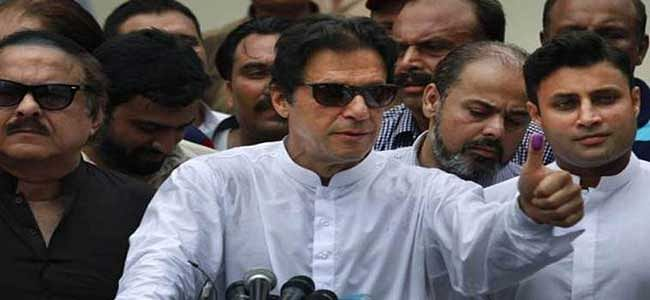 Imran Khan's party pledge to work for peace & development