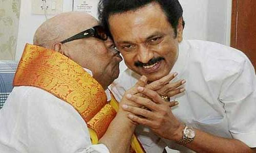 Stalin takes charge of father Karunanidhi's legacy unopposed